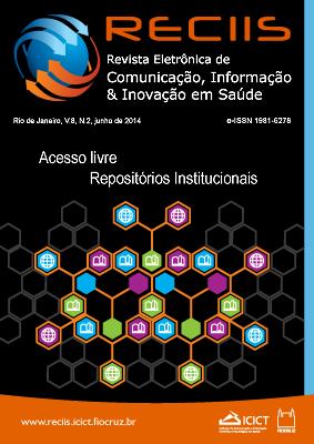 Visualizar v. 8 n. 2 (2014): Temático   Acesso Livre e Repositórios Institucionais