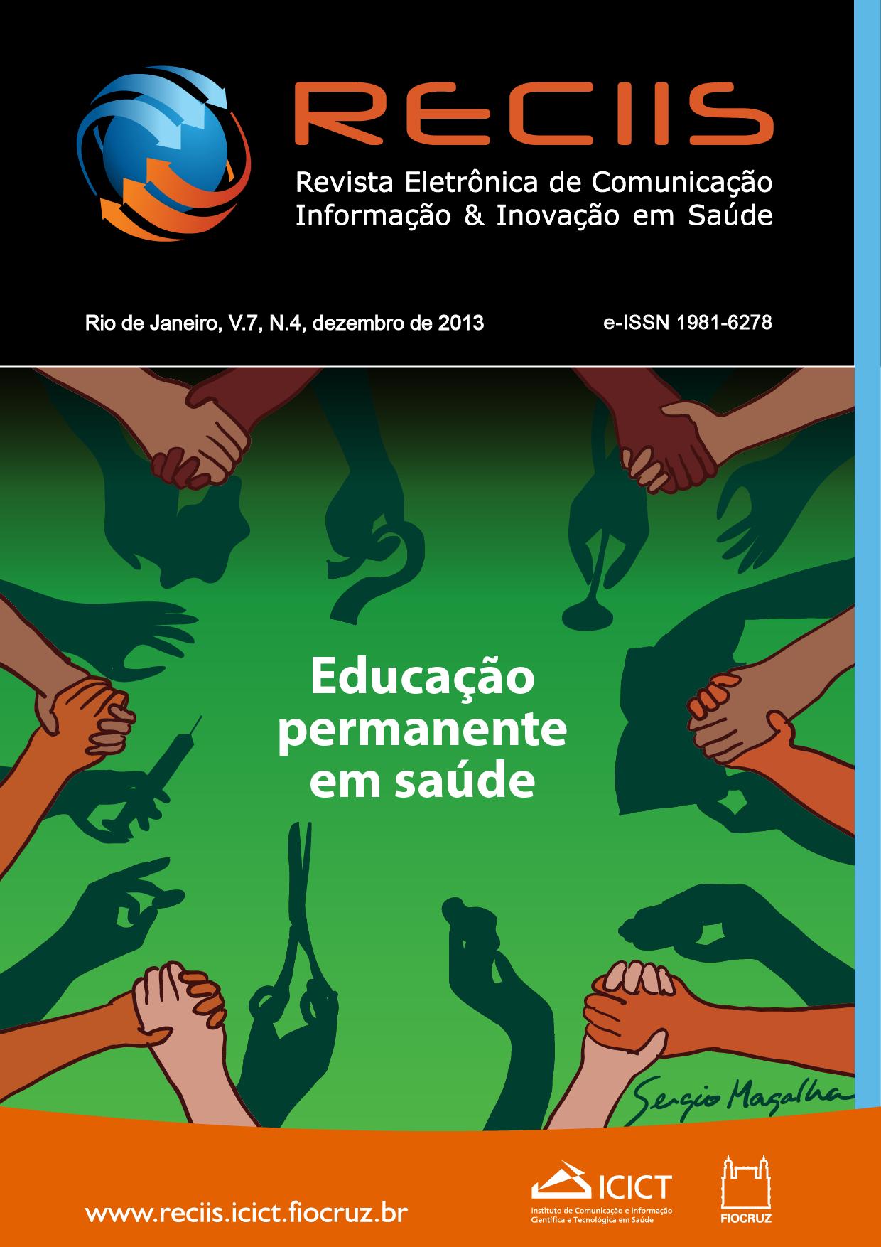 Visualizar v. 7 n. 4 (2013): Temático   Educação permanente em saúde