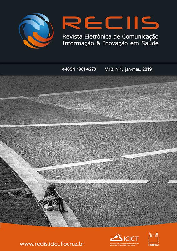 Visualizar v. 13 n. 1 (2019): Dossiê: Comunicação e riscos em saúde
