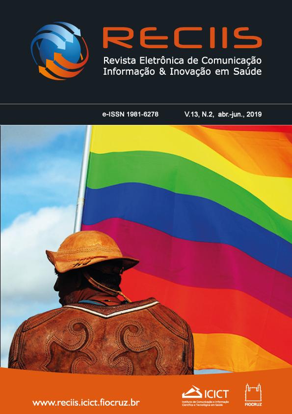 Visualizar v. 13 n. 2 (2019): Dossiê 40 anos do movimento LGBT no Brasil: comunicação, saúde e direitos humanos