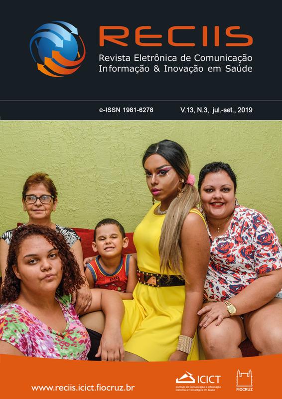 Visualizar v. 13 n. 3 (2019): Dossiê 40 anos do Movimento LGBT no Brasil: visibilidades e representações
